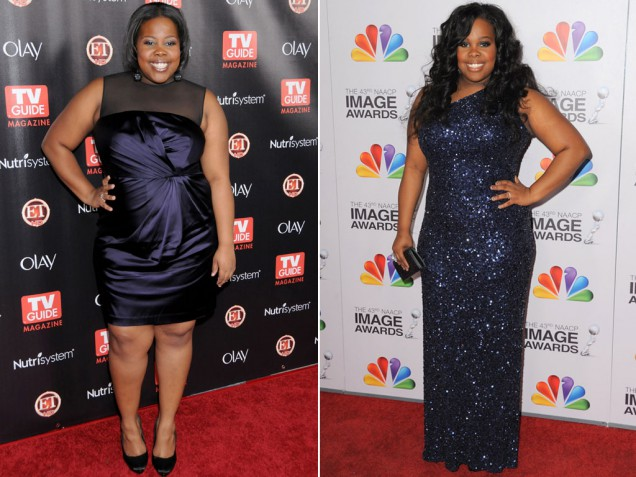 Curvy TV actress drops two dress sizes