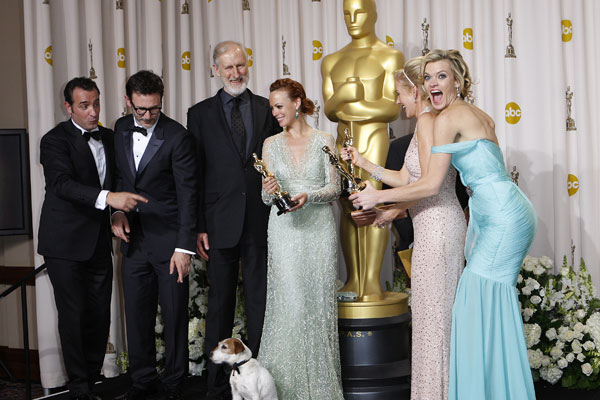 Oscar winners 2012 complete list